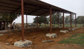 Estrutura em construção